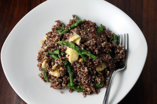 Tabasco and Asparagus Quinoa | Dana Treat – Treat Yourself