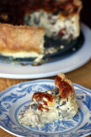 Over-the-Top Mushroom Quiche | Dana Treat – Treat Yourself