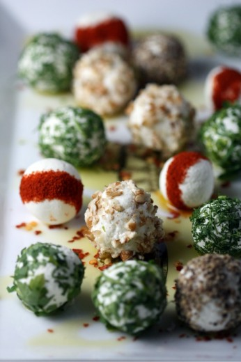 Herbed and Spiced Goat Cheese Balls | Dana Treat – Treat Yourself
